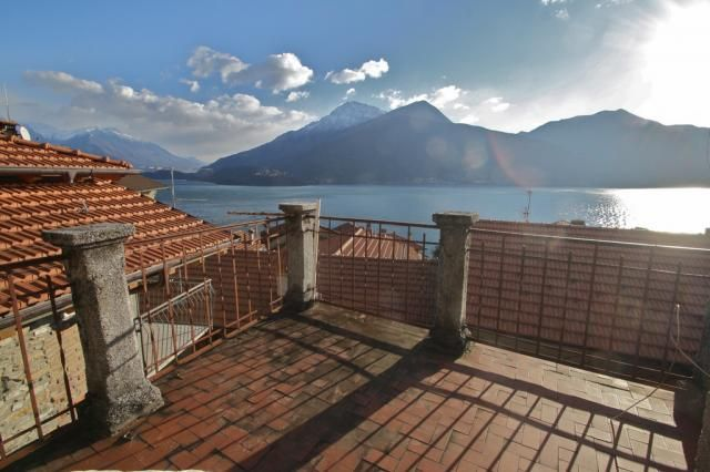 Terrace overlooking Lake Como