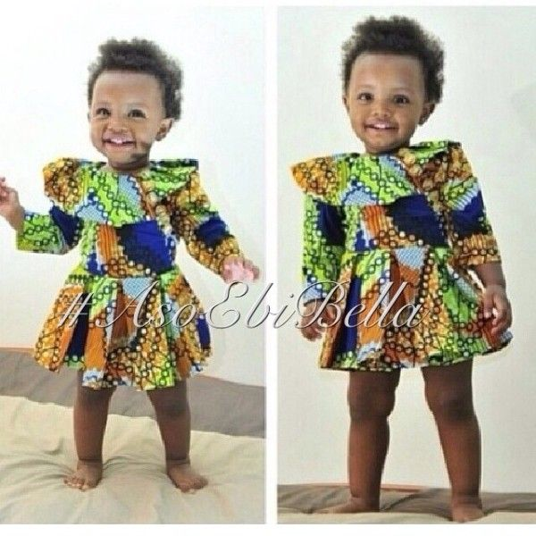 Images of nigerian national dress for kids