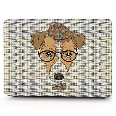 caixa do computador óculos cão macbook para macbook air11 / 13 pro13 / 15 pro com retina13 / 15 macbook12 de 5388101 2018 por €11.39