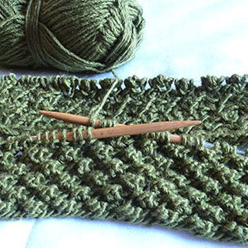 Knitting Blackberry Stitch In The Round : Budding Infinity Scarf from Purl Avenue. I love love love the trinity or blac...