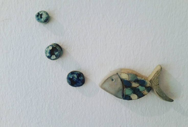 #ceramicforkids #ceramica #ceramicartist #kidsroomdecoration #fish #ceramic #diy #hechoamano #handmade #handmadewithlove
