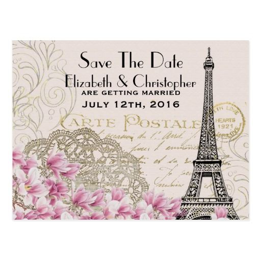 Best French Wedding Postcards Images On   Card