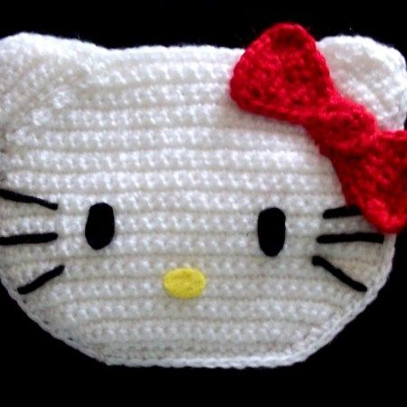 Patrón monedero Hello Kitty