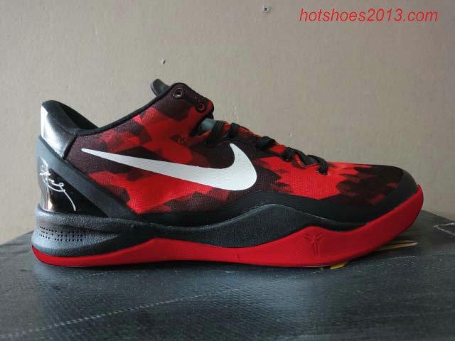 Kobe 8 Elite Black Varsity Red Cool Grey