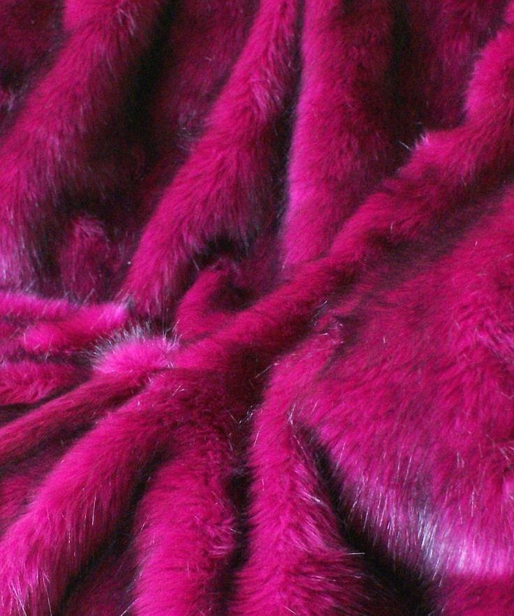 Magenta | Mystical Magenta Faux Fur Throw.  Finally found a bright colored throw for bedroom at Burlington of all places!