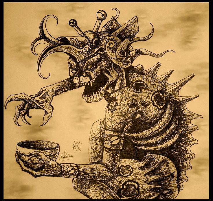ah-puch dios de la muerte | cultura maya | Pinterest | Art ...