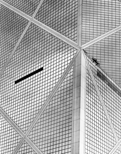 Bank of China, I M Pei, Hong Kong, 1982, photo-Adrian Gaut