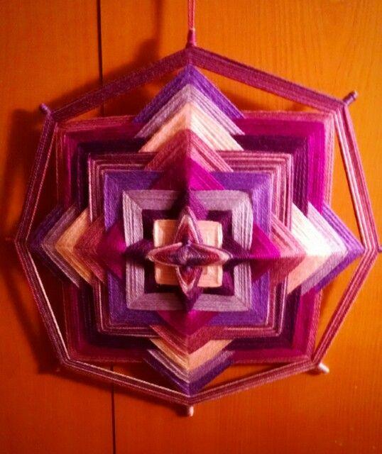 Mandala lila