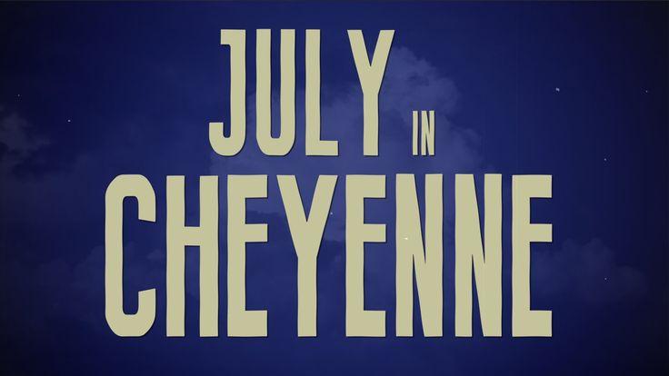"""Aaron Watson- """"July in Cheyenne"""" Lyric Video #laneFrost♥"""