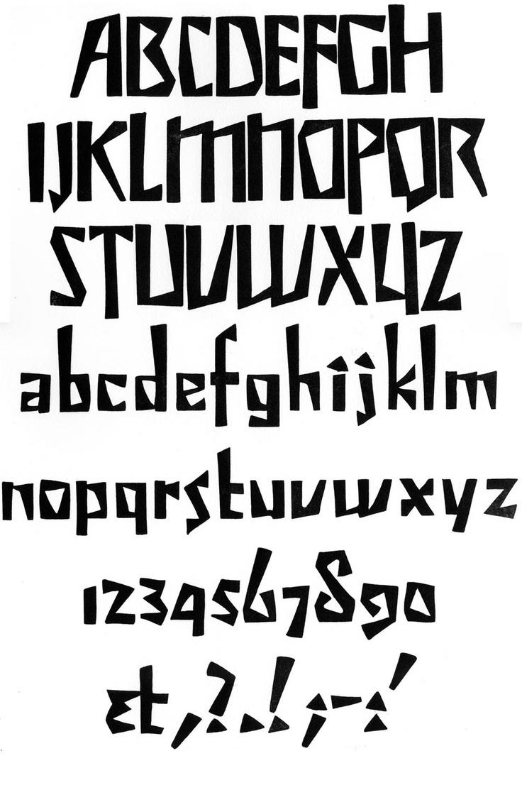 Fonty Jaunts in Prague Department  •  Preissig's font