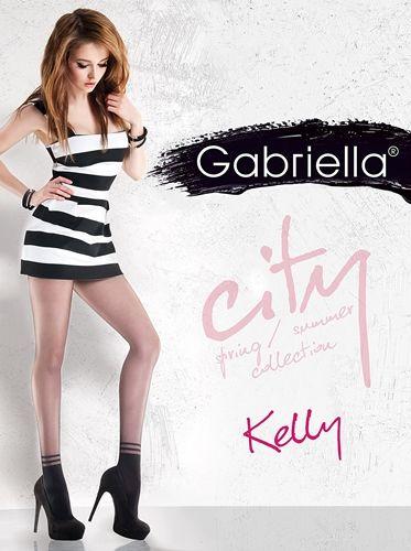 Kelly er en strømpebukse fra Gabriella, som imiterer sokker. I denne kan du gå i joggesko, eller de flotteste stiletthælene du eier. Holdbar og behagelig å bruke.  Flat søm, bomull kile og usynlige forsterket tå.