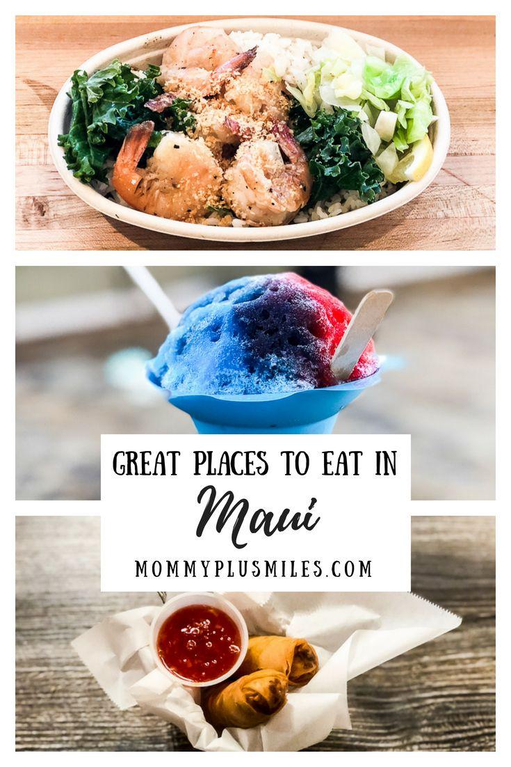 10 Great Places to Eat in Maui, Hawaii, USA. #maui #hawaii #restaurants #goodeats #aloha #hawaiian #food