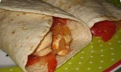 Plnená domáca tortilla - Báječné recepty