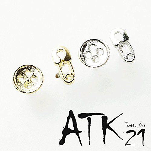 [ATK21] (2個セット)安全ピン ボタン スタッド ピアス アシンメトリー ソーイングセット 裁縫セット お... https://www.amazon.co.jp/dp/B073F3FXYG/ref=cm_sw_r_pi_dp_x_rJ0uzb5PDTEAZ