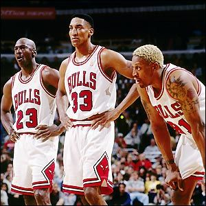 Chicago Bulls ... The NBA dream trio   back in the day!