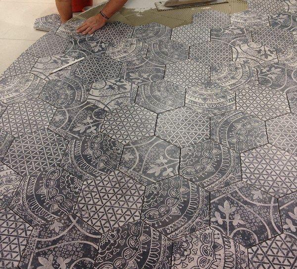 Ny hexagonklinker