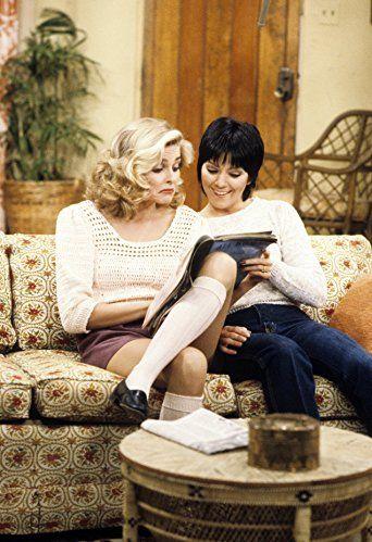 Priscilla Barnes and Joyce DeWitt in Three's Company (1976)