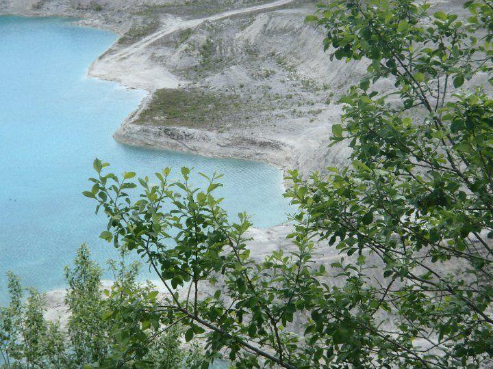 Faxe Denmark limestone quarry