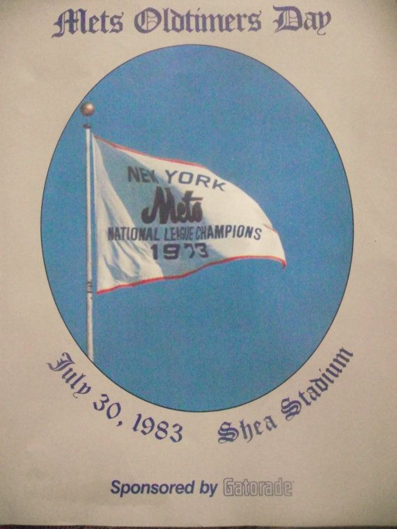 1983 METS OLDTIMERS DAY Program1973 Mets by KathysRetroKorner