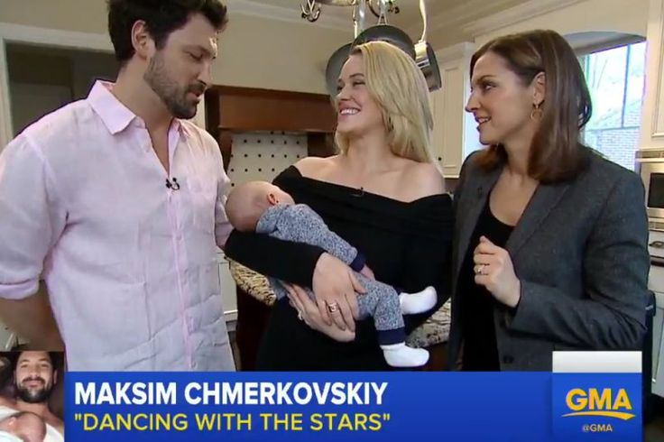 Maksim Chmerkovskiy and Peta Murgatroyd may be king and queen of the dance floor, but the love birds say they don't want their son, Shai Aleksander, following in their footsteps.  Chmerkovskiy, 37, and 30-year-old Murgatroyd appeared onGood Morning Americain a taped segment on Friday with their little