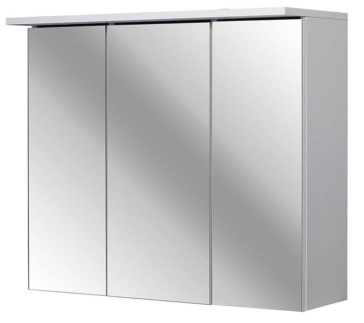 Spiegelschrank »Flex 70 cm«, für 99,99€. Moderner Spiegelschrank, 3 Spiegeltüren, Mit Soft Close, Mit LED-Beleuchtung, Inkl. Schalter und Steckdose bei OTTO