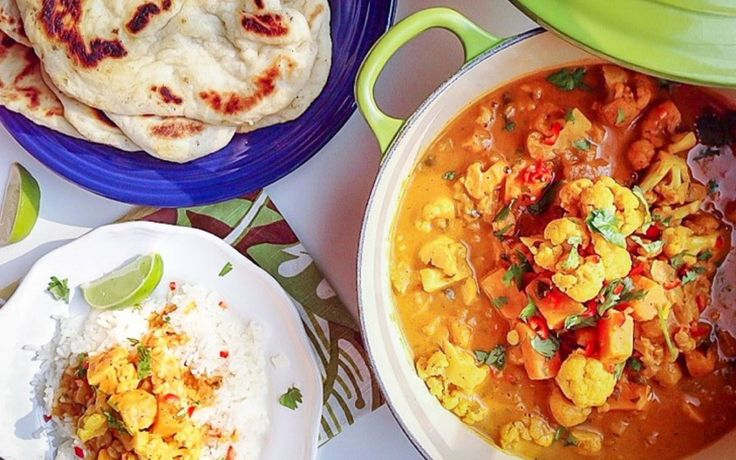 <p>This hearty stew is inspired by butter chicken, a North Indian dish made by cooking chicken in a mildly spiced curry sauce. </p>