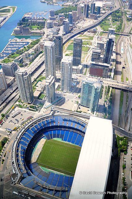 Rodgers Stadium, Toronto, Ontario, Canada. ... #homesbyjohnburke ... #GTAHomes4U ... @GTAHomes4U