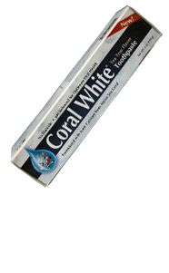 The World's only natural toothpaste, is formulated with Eco-Safe™ ionic coral minerals from above the sea. Coral White® is perhaps the cleanest and most effective toothpaste available. Coral White® Toothpaste Mint