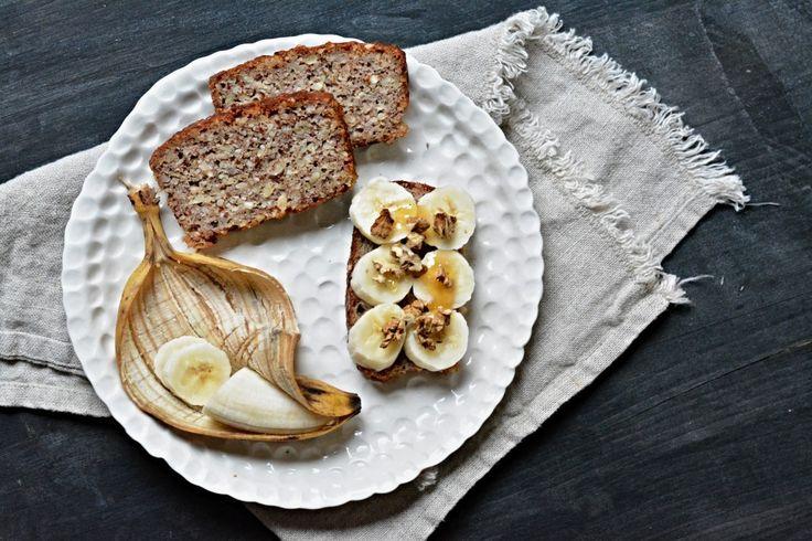 Kitchen story | Bezlepkový banánový chlebíček | http://www.kitchenstory.cz