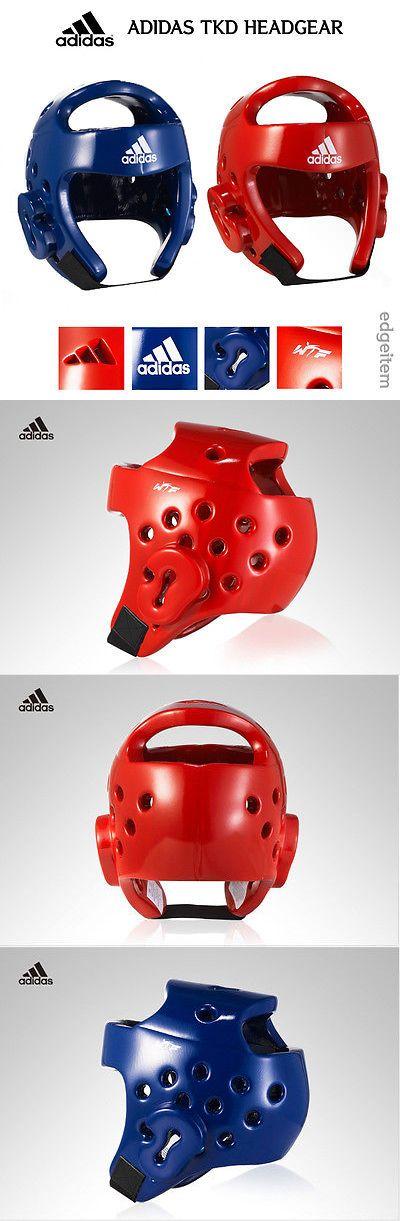Head Gear 179780: Adidas Taekwondo Headgear Red Blue Head Gear Wtf Approved Guard -> BUY IT NOW ONLY: $54.9 on eBay!