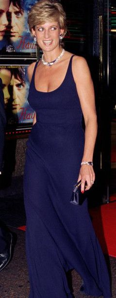 Princess Diana at the film premiere 'Haunted' on October 26, 1995. Held at The…