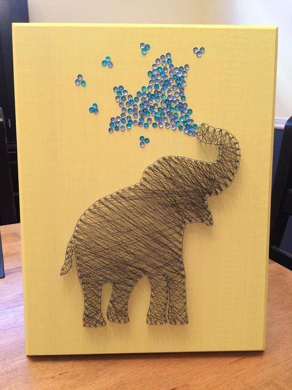 Elephant String Art                                                                                                                                                                                 More