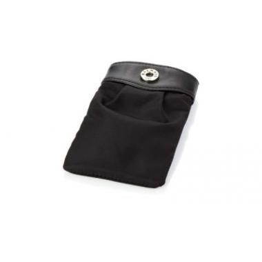 Promotional Balmian Deauville smartphone case. Protective smartphone case with section divider. Microfiber.