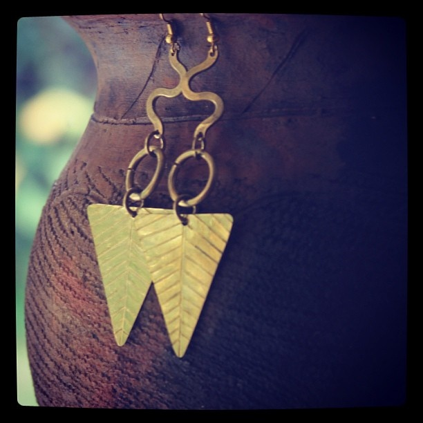 Egypt #earrings at The Afropolitan Shop $18