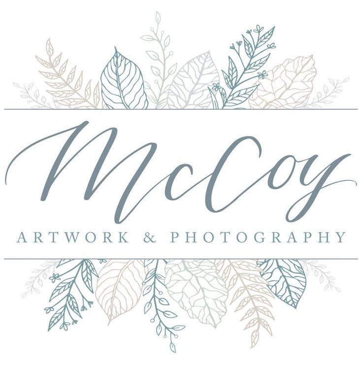 Final logo design for McCoy Artwork & Photography | Launch Your Daydream |  Wedding Photographer Custom