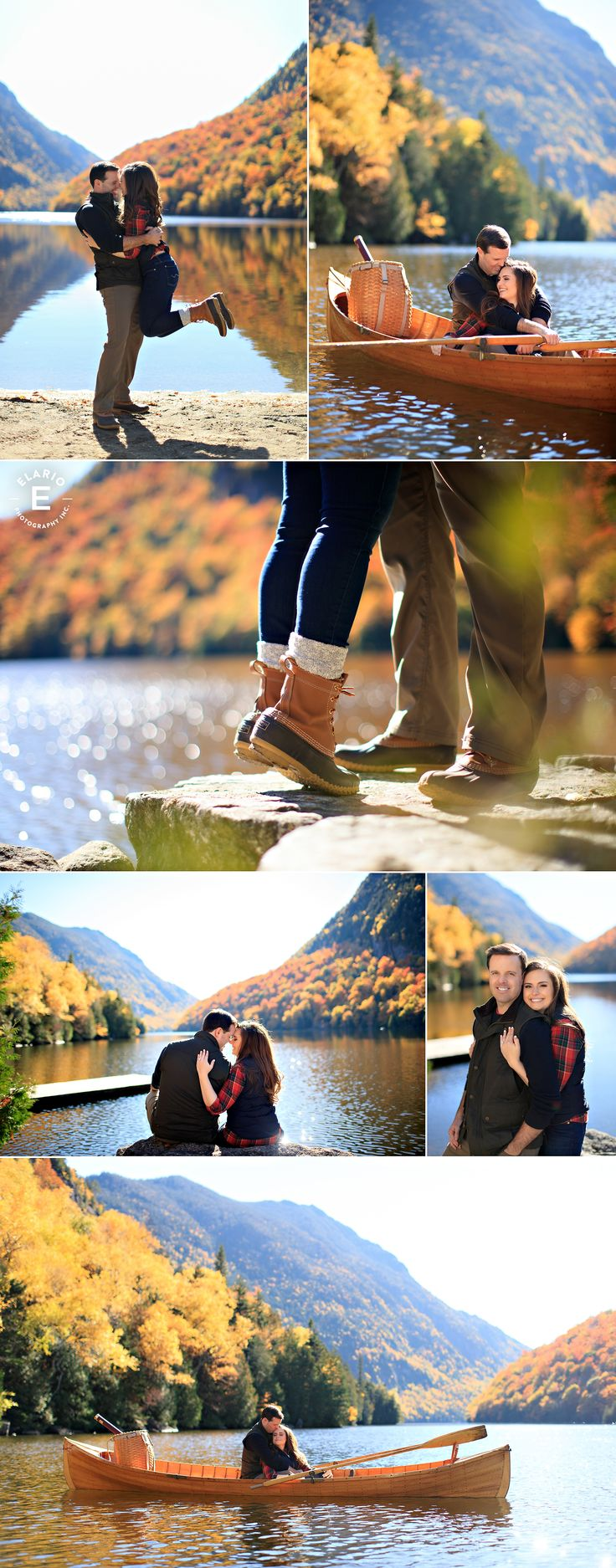 What a beautiful fall engagement shoot ideas.