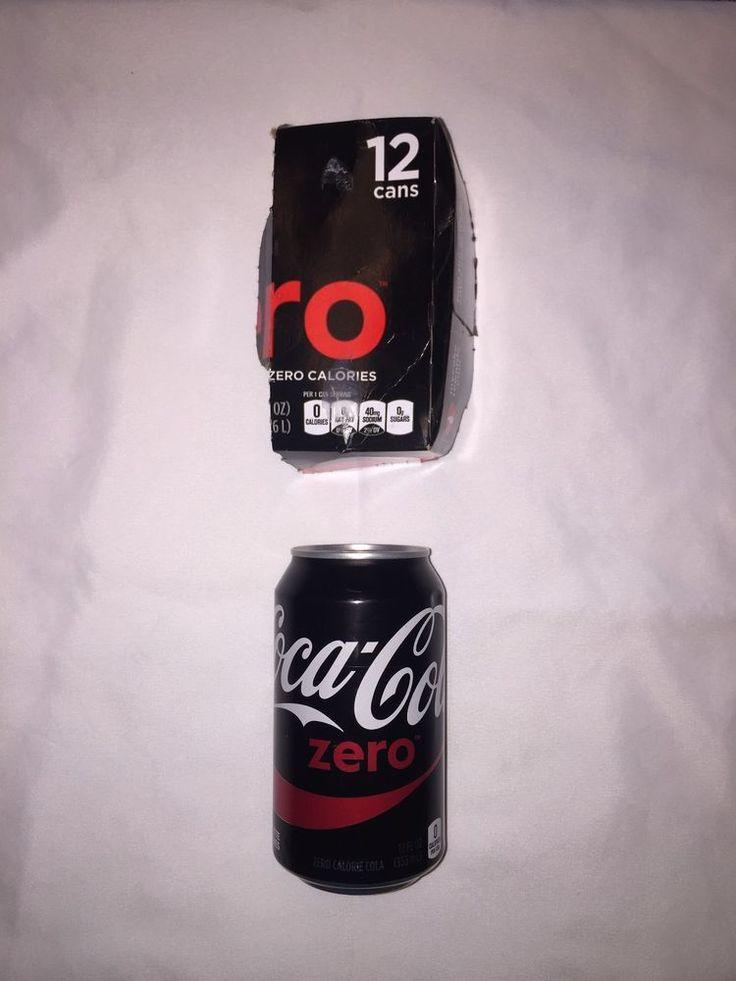 Coca-Cola Zero Factory Error - Rare Sealed Empty 12 Fl Oz Can - No Punctures | Collectibles, Advertising, Soda | eBay!