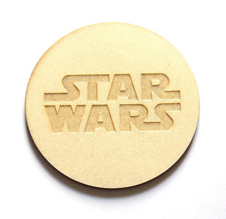 Ręcznie obrabiana podstawka Gwiezdne Wojny