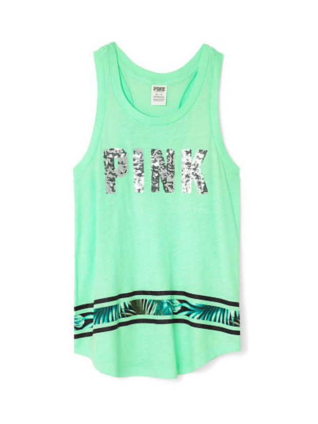 Ringer Tank - PINK - Victoria's Secret