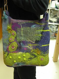ANDREA GRAHAM : Students: They came. They felted. They went.