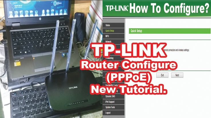 """How To Configure TP-Link Wireless Router To Work with a DSL Modem (PPPoE... Hey Rm-ITvision Lover, Today I'll Show you How to install TP-Link wireless router to work with a DSL Modem """"PPPoE""""?  Or How To Configure TP-Link Wireless Router To Work with a DSL Modem  """"PPPoE""""
