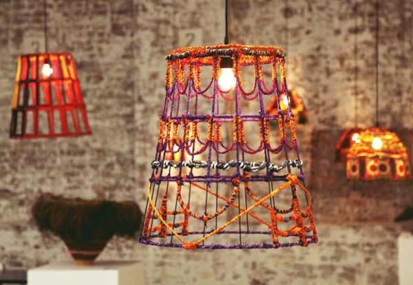 Indigenous weavers from Central Australia have joined forces with Australian furniture and homeware designers Koskela to create one-of-a-kind lampshades that are a contemporary expression of the traditional skills and cultural heritage of its makers, the Tjanpi Desert Weavers. Their fibre artworks have even been acquired by major institutions, including the National Gallery of Australia. Made by hand, they are a beautiful reminder of the rich heritage of Australia's indigenous ancestors.