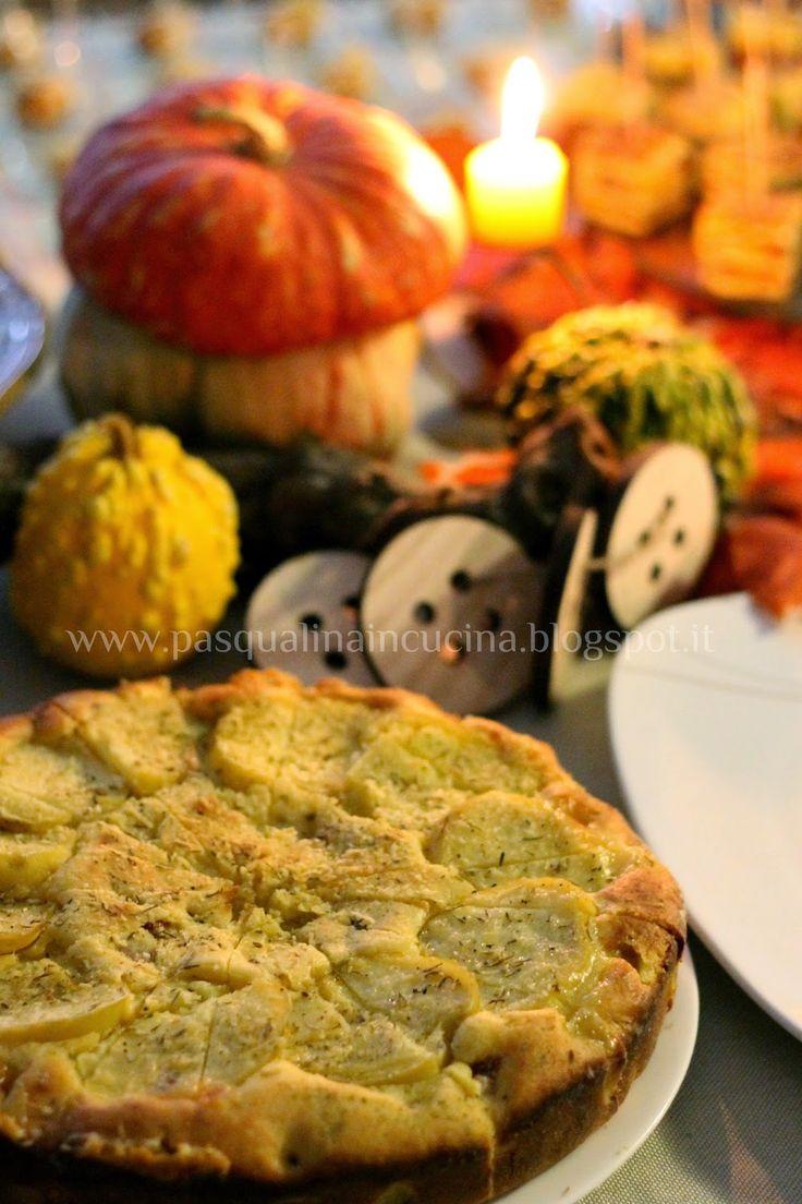 torta soffice di patate e speck di Luca Montersino - Luca Montersino potato and speck tart