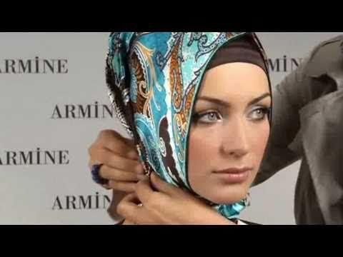 Hijab Fashion: Armine Eşarp Bağlama Modelleri # 2 - YouTube