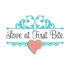 attractive love logo heart logo design with vintage damask illustrations custom business branding - Design Names Ideas