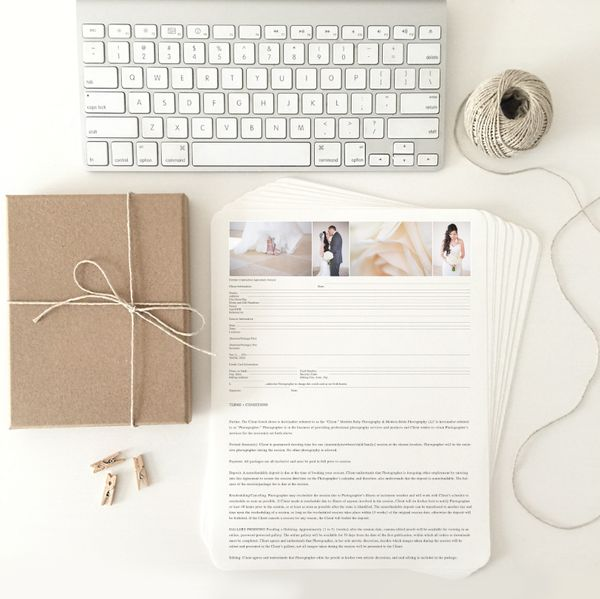 13 best Photography Contracts images on Pinterest Photography - photography contracts