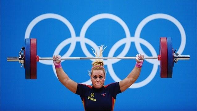 03-08-2012 - Haltérophilie - WL - Women's 75kg - VALENTIN PEREZ Lidia