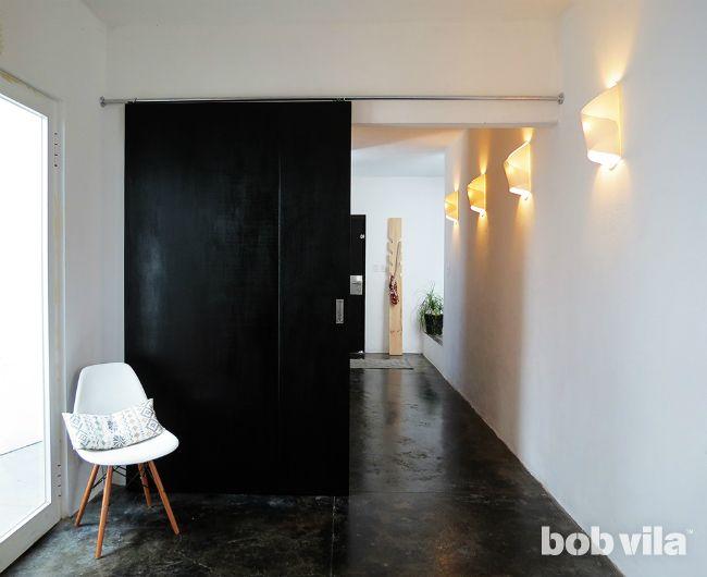 DIY Sliding Door - Mount a Sliding Door for Privacy