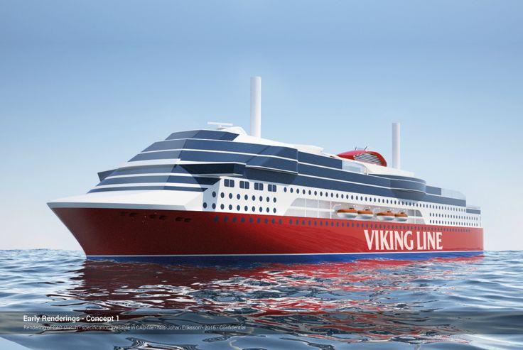 Finnische Reederei Viking Line plant Bau einer neuen Ostsee-Fähre