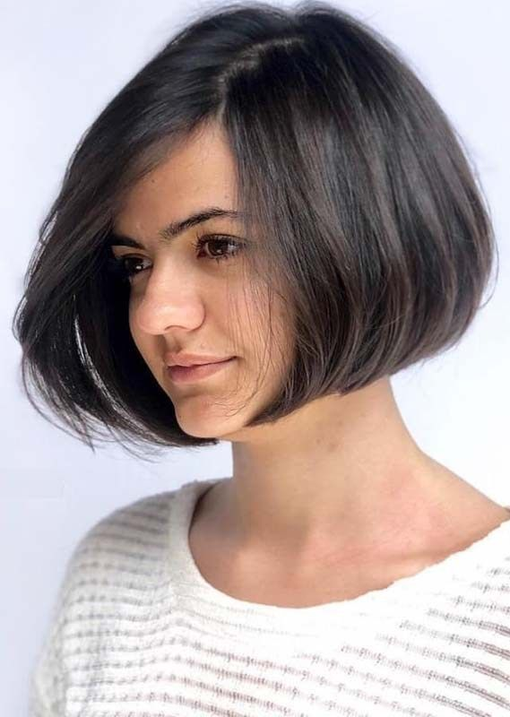 6f65c5bda6c24 Take a look from our best bob haircuts for short hair for more cutest hair  looks in year 2019. You may easily get polish and creative short bob  hairstyle so ...